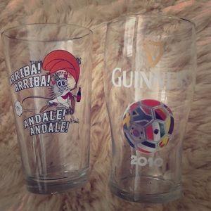 Two Pint Glasses 🍻😋